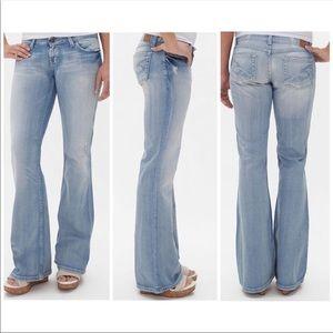 BKE Star 20 Stretch Jeans irregular Distress NWT